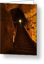 The Cavern Ghost Greeting Card