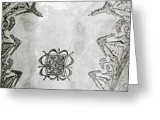 The Ceiling Design Greeting Card