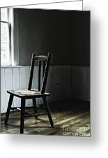 The Chair By The Window II Greeting Card