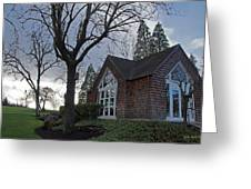 The Chapel At Eagle Point National Cemetery Greeting Card