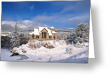 The Chapel On The Rock 3 Greeting Card