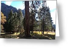 The Chapel Yosemite Greeting Card