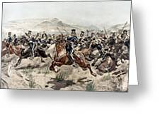 The Charge Of The Light Brigade, 1895 Greeting Card