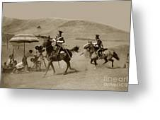 The Charge Of The Light Brigade 1936 Greeting Card