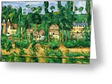 The Chateau De Medan, C.1880 Greeting Card