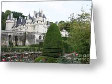 The Chateau's Towers View Greeting Card
