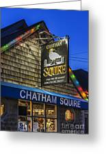 The Chatham Squire Greeting Card