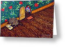 The Cheese Thief Greeting Card by Jay  Schmetz