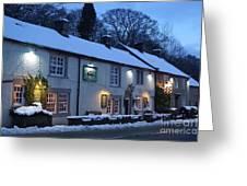 The Chequers Inn Greeting Card