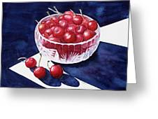 The Cherry Bowl Greeting Card