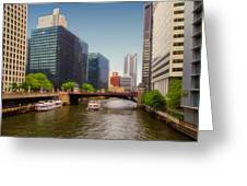 The Chicago River South Branch Greeting Card