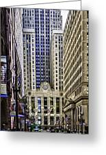 The Chicago Skyline Day-006 Greeting Card
