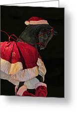 The Christmas Horse Greeting Card