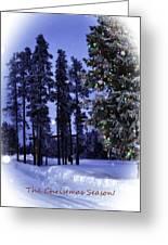 The Christmas Season Greeting Card