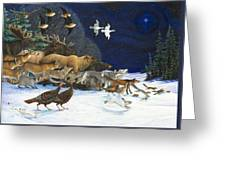 The Christmas Star Greeting Card by Lynn Bywaters