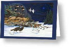 The Christmas Star Greeting Card