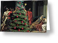 The Christmas Tree Of The Horatii Greeting Card