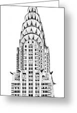 The Chrysler Building Greeting Card by Luciano Mortula