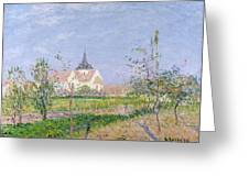 The Church At Vaudreuil Greeting Card