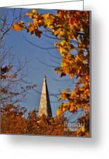 The Church In Goshen Greeting Card