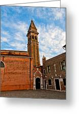 The Church Of Saint Martin Greeting Card by Peter Tellone