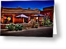 The Church Street Cafe - Albuquerque New Mexico Greeting Card