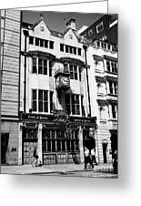 the cittie of yorke pub on high holborn London England UK Greeting Card