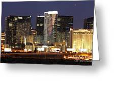 The City Center At Las Vegas Strip Greeting Card