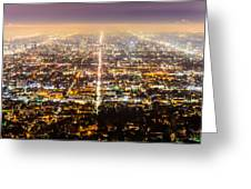 The City Grid Greeting Card