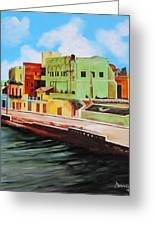 The City Of Matanzas In Cuba Greeting Card