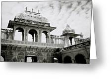 The City Palace Udaipur Greeting Card