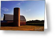 The Clayton Barn Greeting Card