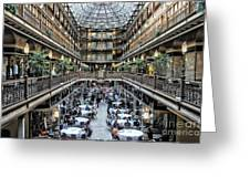 The Cleveland Arcade Greeting Card