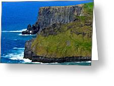 The Cliffs Of Moher In Ireland Greeting Card
