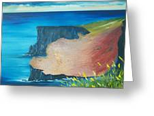 The Cliffs Of Moher Ireland Greeting Card