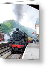 The Climb Into Goathland Station Greeting Card