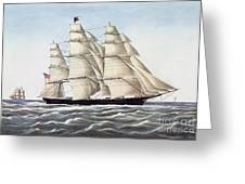 The Clipper Ship Flying Cloud Greeting Card