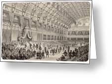 The Closing Ceremony Of The  Paris Greeting Card