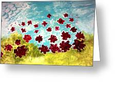 The Cloud Has Lifted Greeting Card