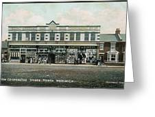 The Co-operative Stores At  North Greeting Card