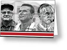 The Coaches Greeting Card