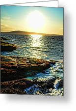The Coast Of Maine Greeting Card