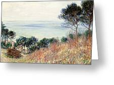 The Coast Of Varengeville Greeting Card