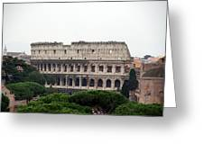 The Coliseum  Greeting Card