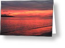The Color Of Night Greeting Card