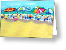 The Color Of Summer  Greeting Card