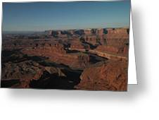 The Colorado River At Dead Horse State Park Greeting Card