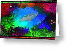 The Colorful Sea Greeting Card