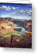 The Colors Of Canyonlands Greeting Card