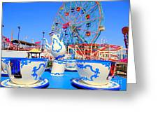 The Colors Of Coney Greeting Card